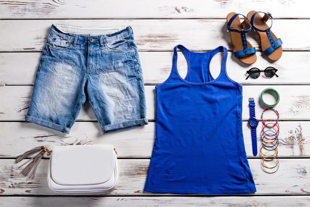 szorty jeans lato moda